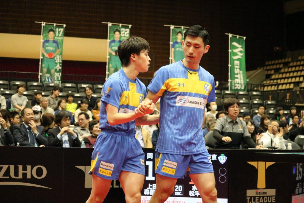 上田仁/森薗政崇(岡山リベッツ)