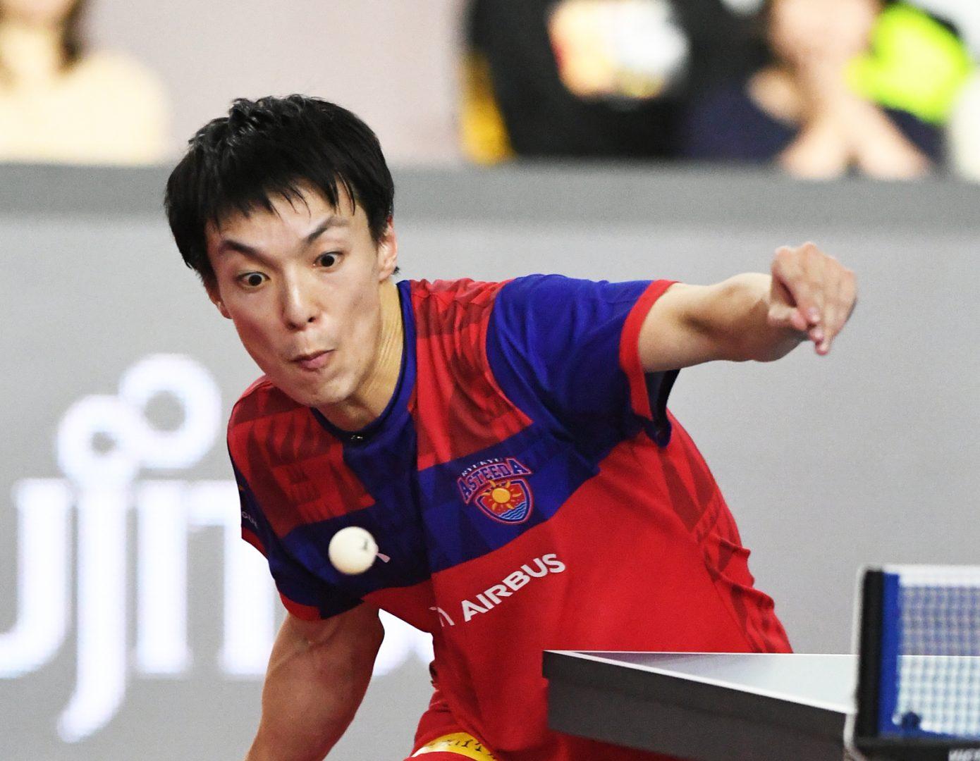 【卓球】松平賢二、アキラ100%と「マッスルペア」結成?「ぜひダブルスを!」と快諾