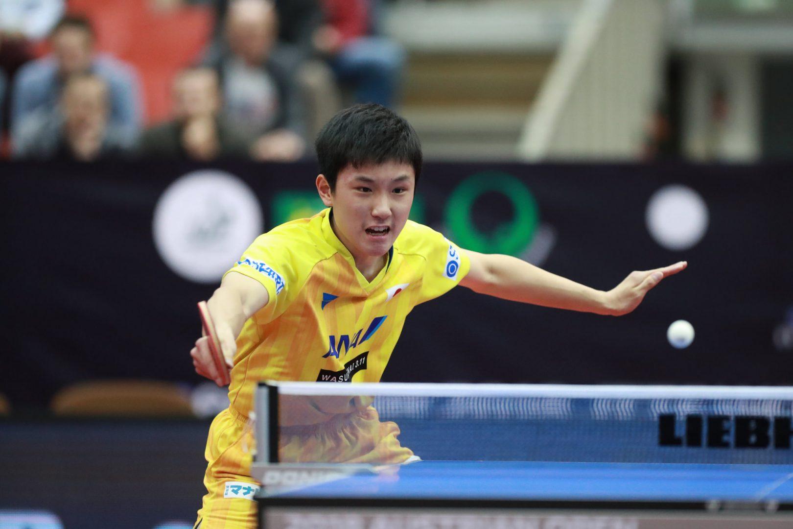 【卓球】張本智和が自己最高の5位|男子世界ランキング(12月最新発表)