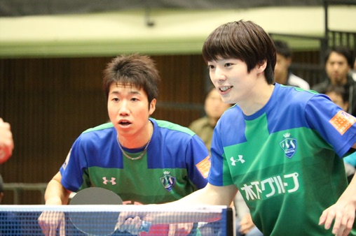 水谷隼(木下マイスター東京・左)、松平健太(右)