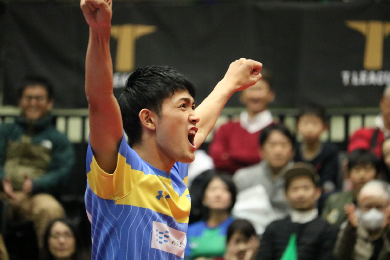 【卓球】り、凛々しいっ…! 吉村和弘、京都で和服姿を披露