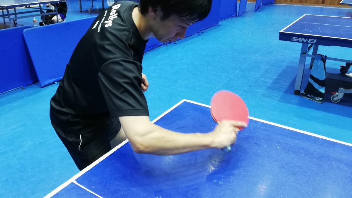 【初心者必見】ツッツキのやり方とコツ|卓球基本技術レッスン