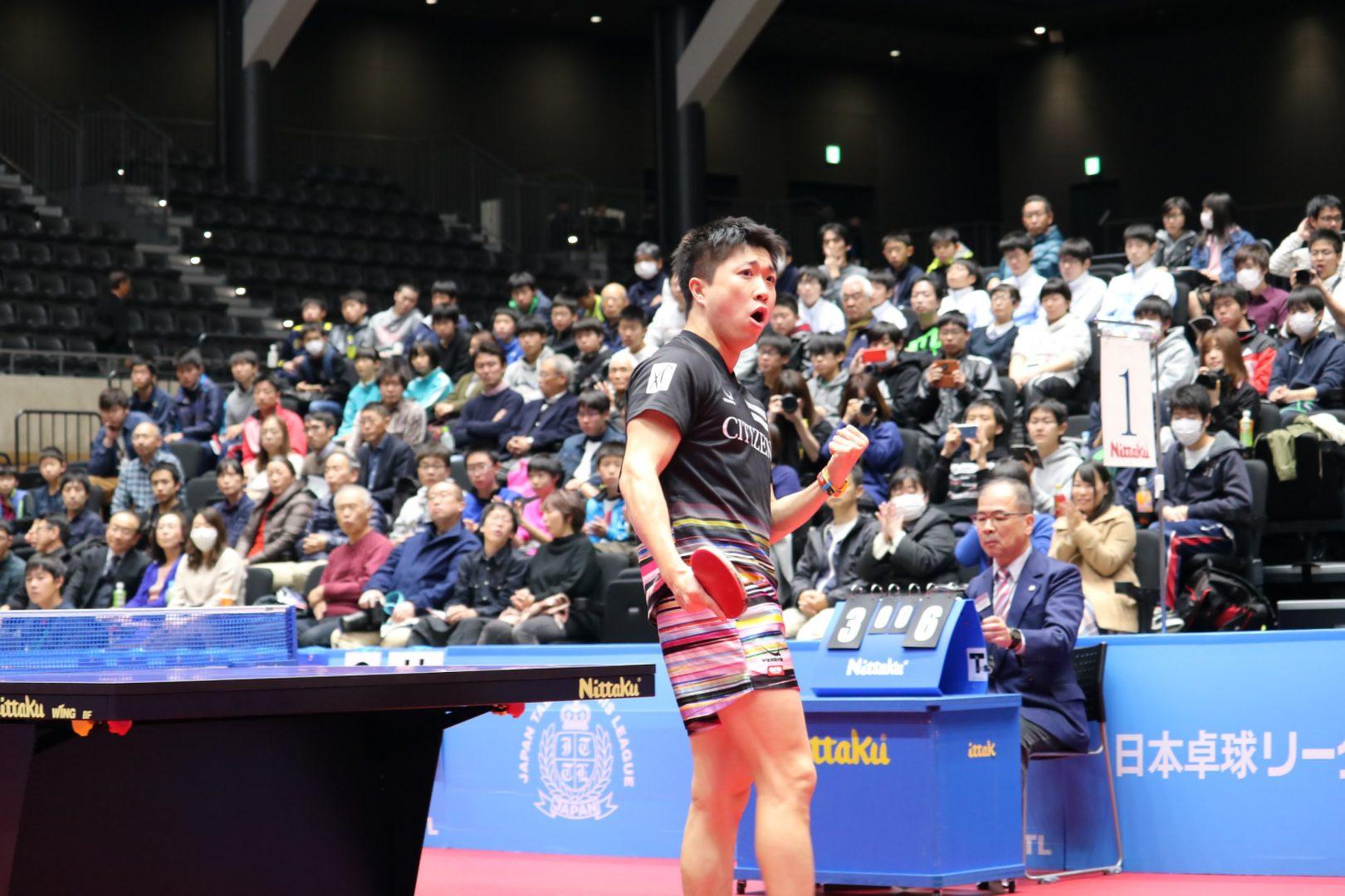 【卓球】シチズン、リコーが初の決勝進出 <内閣総理大臣杯 日本リーグプレーオフ2018男子>