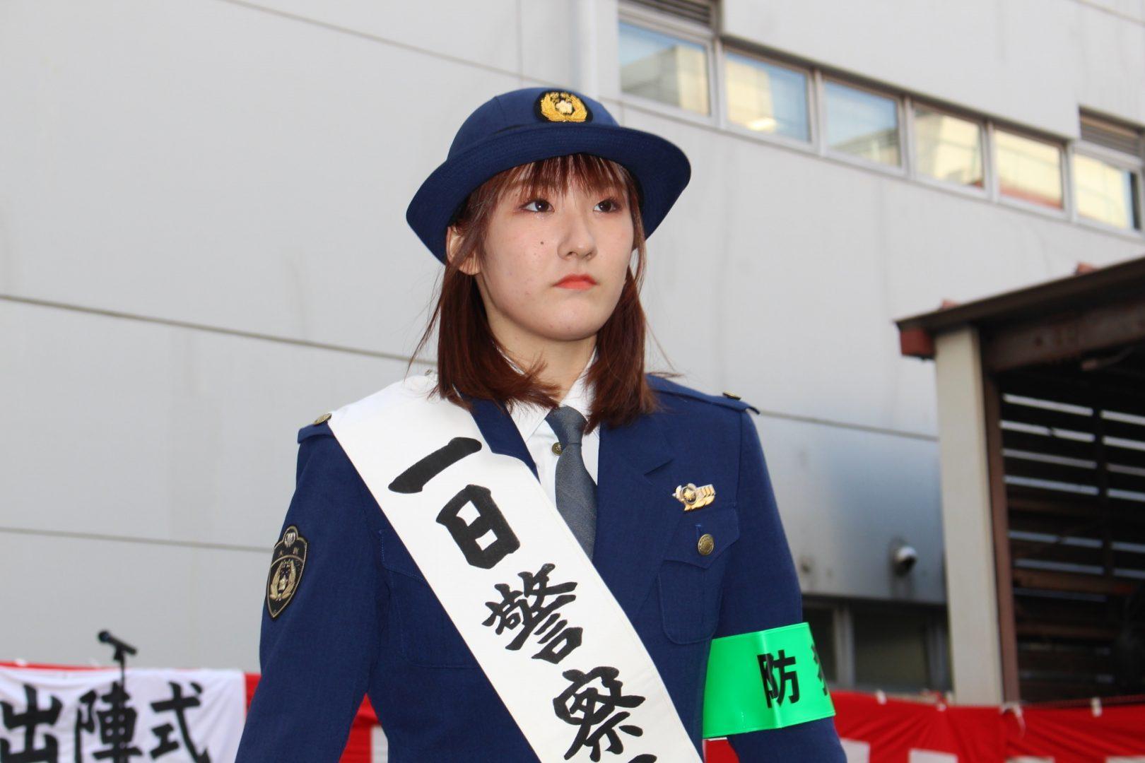 【Tリーグ】加藤美優が大淀警察署長に 大阪の安全願って快速スマッシュ