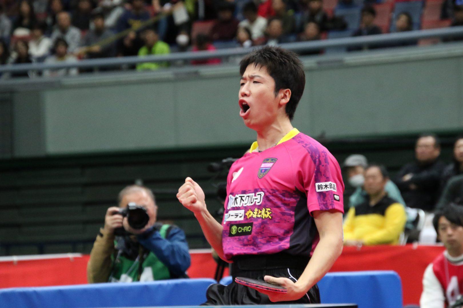 【速報】水谷隼が全日本王者返り咲き 前人未到の10度目V<全日本卓球2019・男子単>