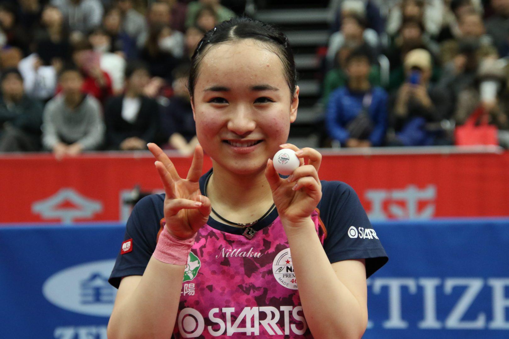 【卓球】伊藤美誠2年連続3冠 14歳木原を下した戦術を振り返る<全日本卓球2019・女子単>