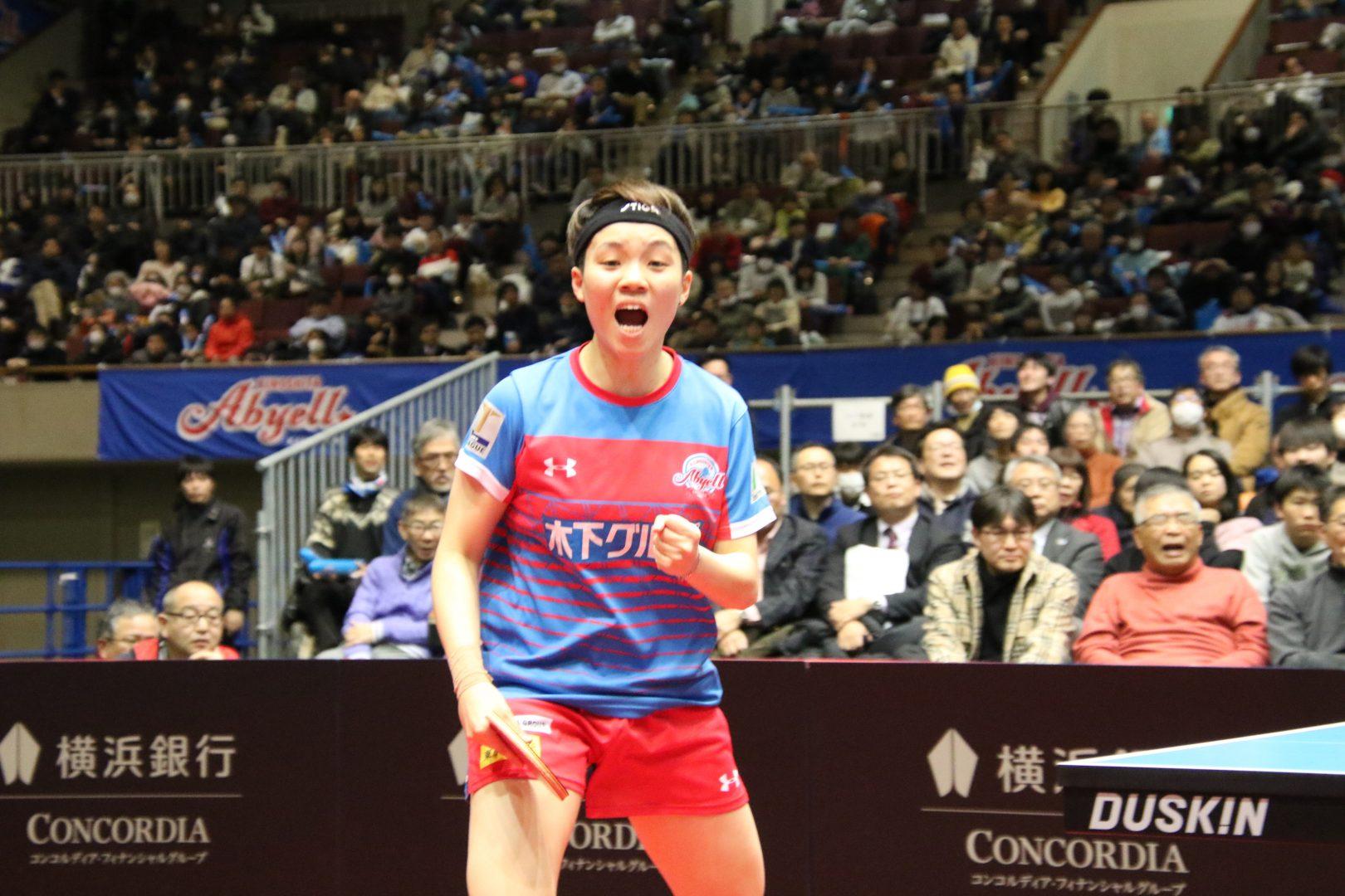 【速報・卓球Tリーグ】首位のKA神奈川が3連勝 ニッペMも石川を破り一矢報いたが及ばず