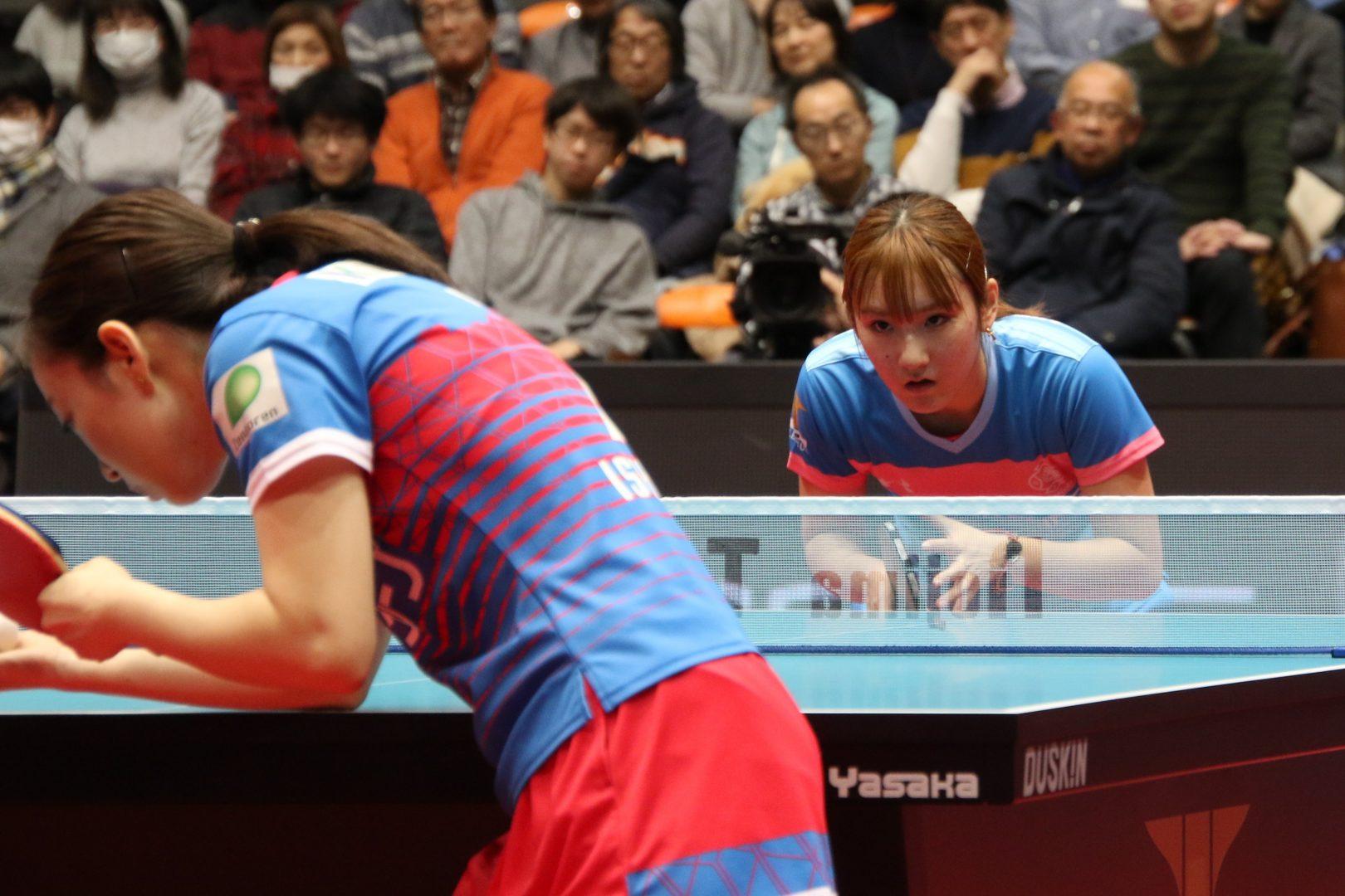 【卓球・Tリーグ】加藤美優、石川佳純に値千金の勝利 マレッツは11連敗のトンネルを脱出