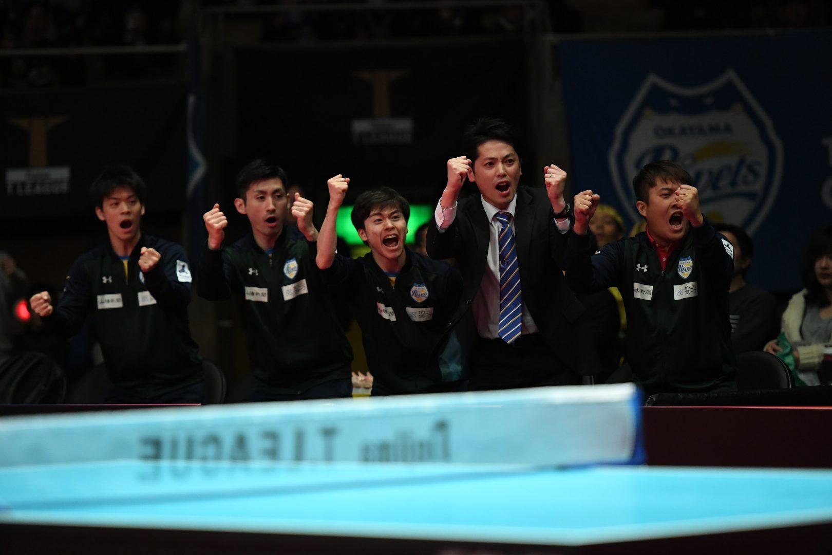 【卓球・Tリーグ】地元岡山が10ゲーム連取の快挙 世界代表の吉村が5連勝