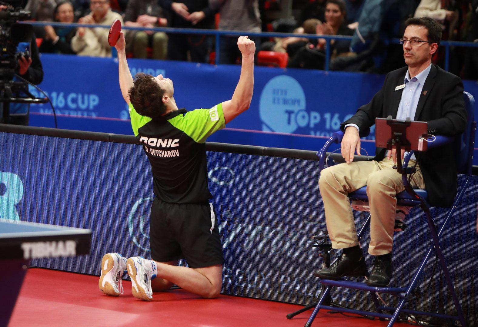 【卓球】オフチャロフとゾルヤ、ドイツ勢がアベックV ヨーロッパトップ16