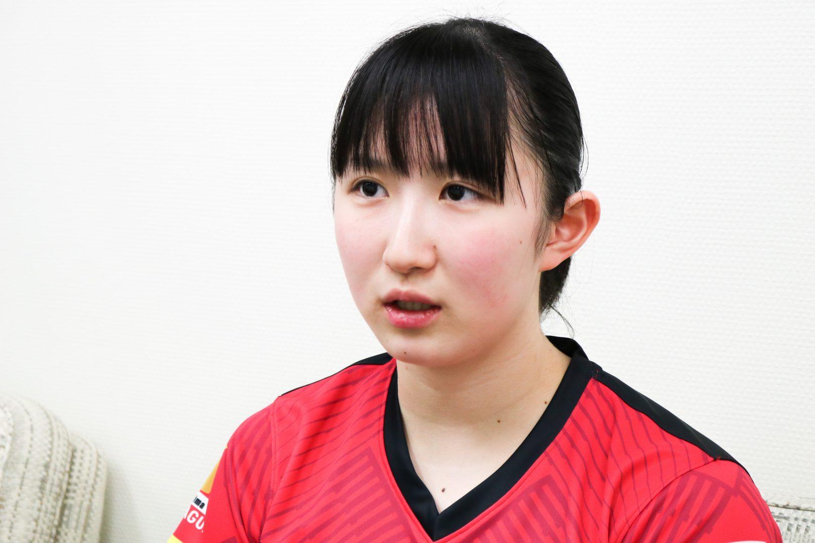 【早田ひな#1】Tリーグ初のMVP 卓球三昧の18歳は「楽しさを忘れない」