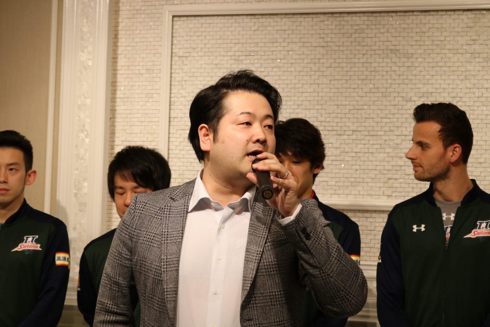 【卓球・Tリーグ】坂本竜介監督「来年は祝勝会にしたい」 T.T彩たまがスポンサーにシーズン報告