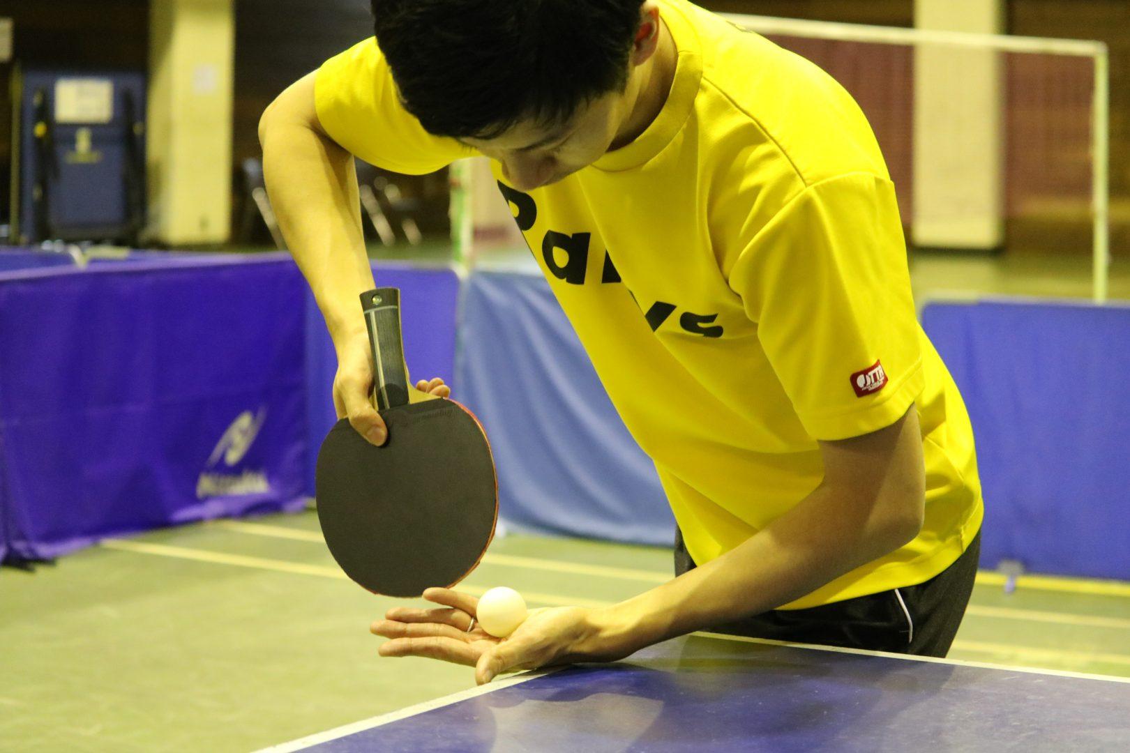 【初心者必見】順横回転サーブの活用方法|卓球基本技術レッスン