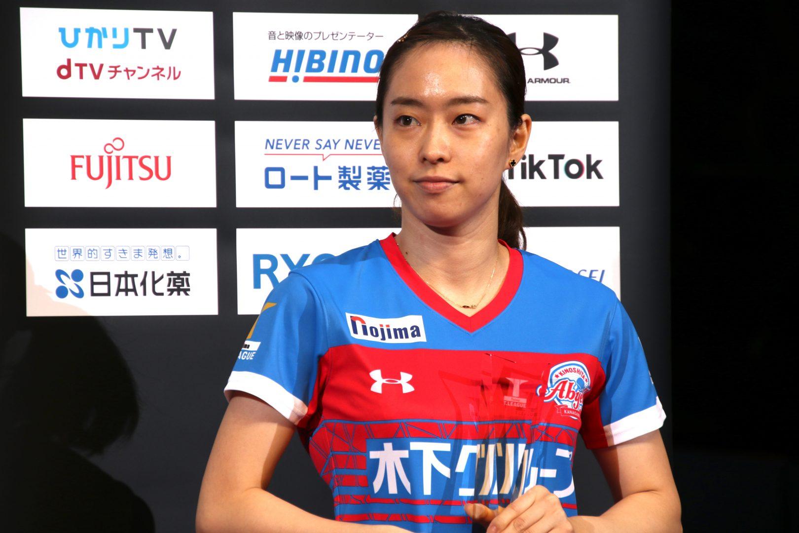 【卓球・Tリーグ】石川佳純、優勝逃すもTリーグに満足「楽しかった」