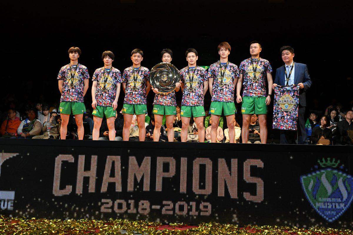 Tリーグ初代チャンピオンの木下マイスター東京