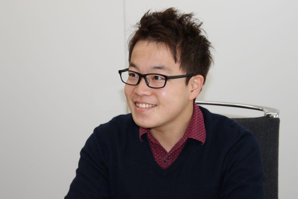写真:オムロン株式会社・中山雅宗さん/撮影:ラリーズ編集部