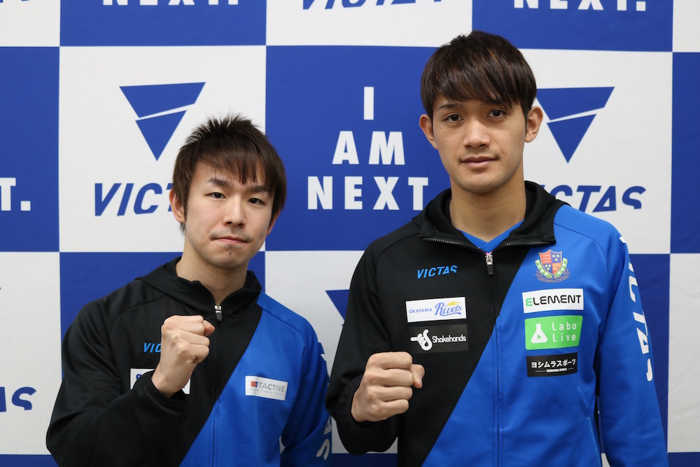 【卓球】世界代表の丹羽・吉村和   限定サイン会に長蛇の列