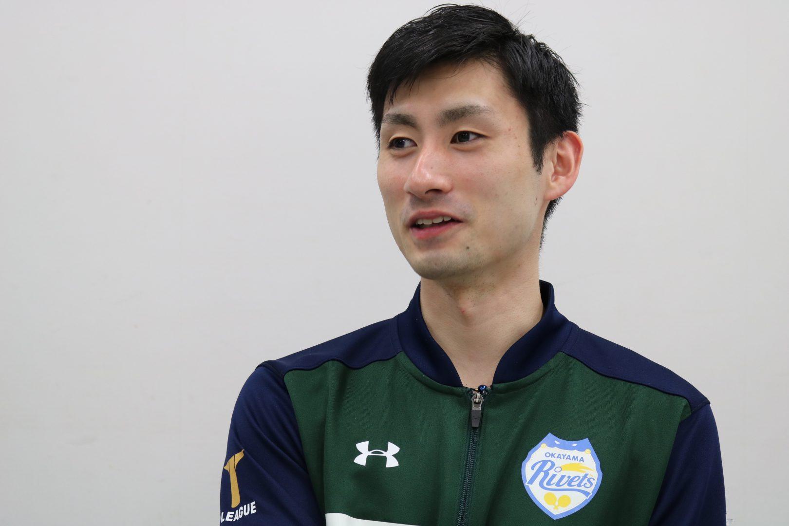 「俺もバズりたい」岡山リベッツ上田仁に聞く プロ卓球アスリートのSNS活用法