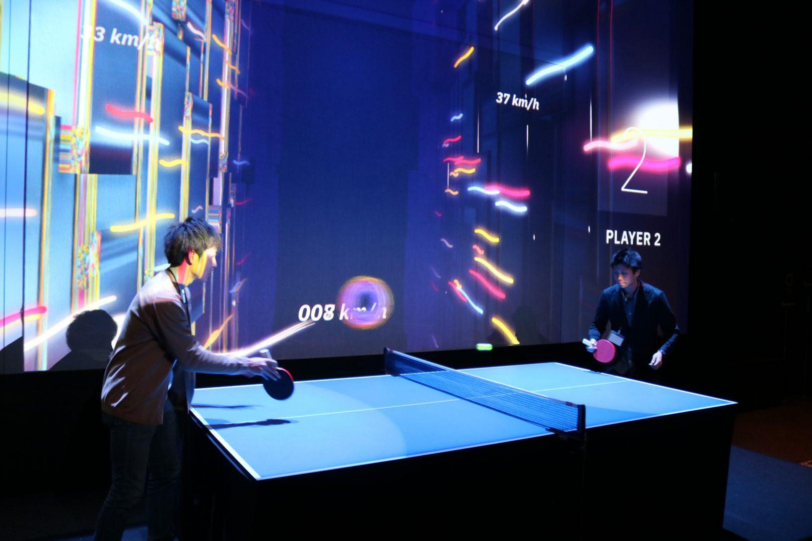 【22日~24日】有明パナソニックセンターで「光る卓球」を体験しよう【2020オリンピック500日前】