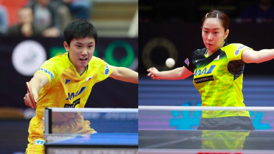世界卓球混合ダブルス代表の石川・張本ペアが初戦を勝利で飾る<カタールOP>