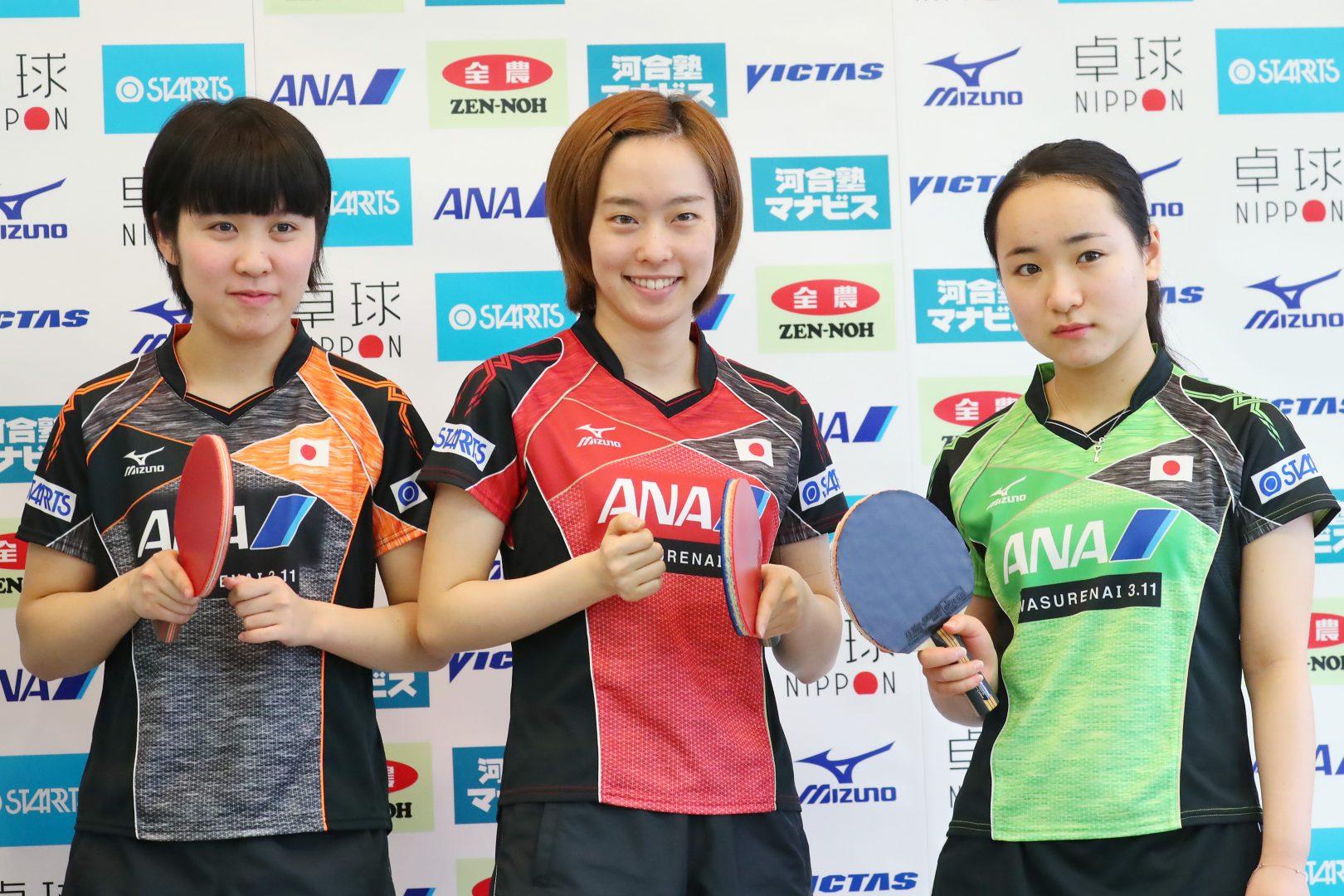 【卓球トップ12・女子最終日見どころ】みうみま対決に注目 佳純2年ぶりV目指す