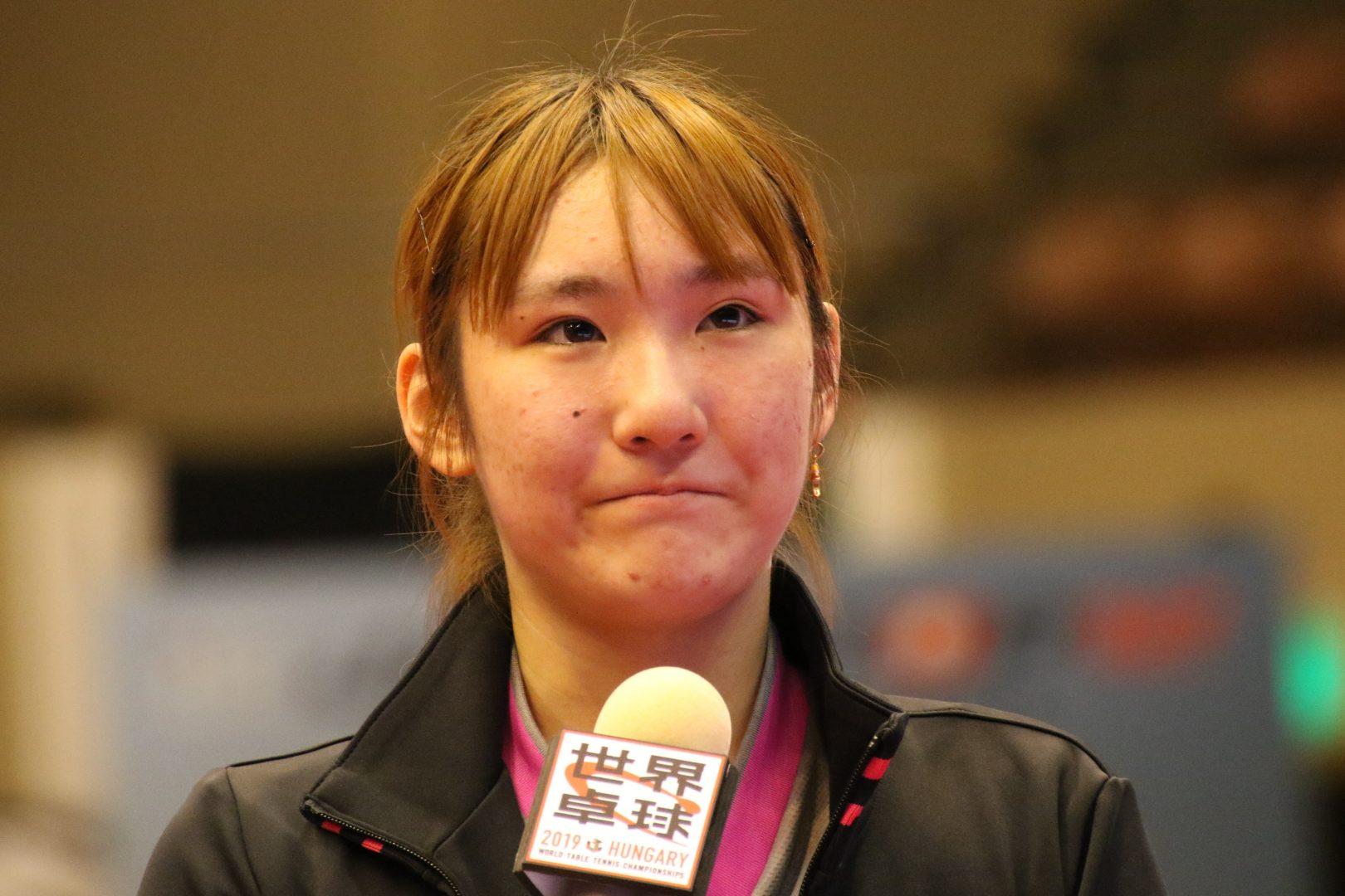 【卓球・トップ12】加藤美優、涙の世界代表内定