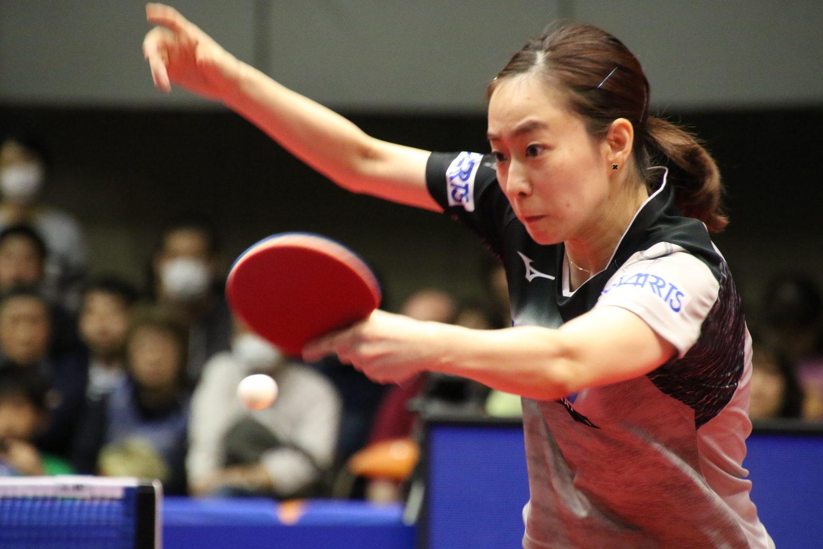 【卓球】石川は3位決定戦・平野は5位決定戦へ<アジアカップ女子>