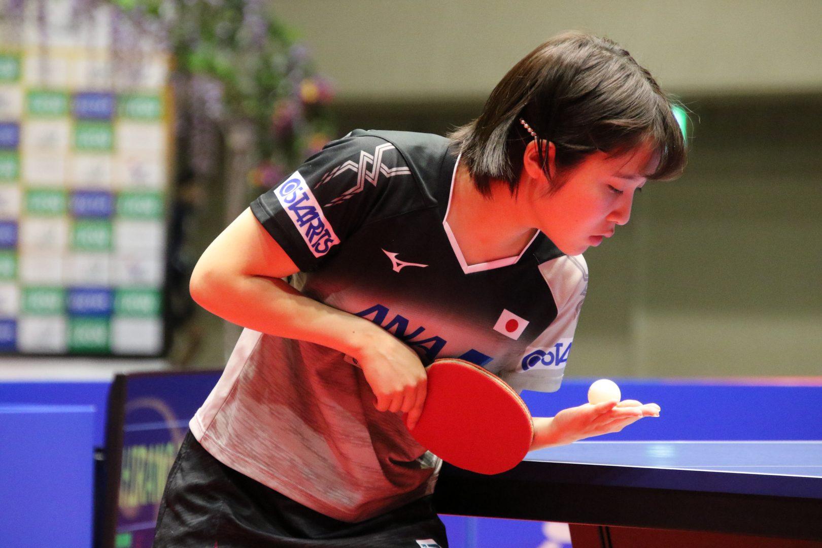 """【卓球】平野美宇は""""高速卓球""""見せるも、6位で大会を終える<アジアカップ>"""