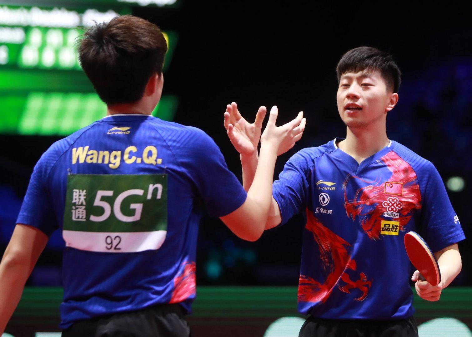 【卓球・男子】馬/王組が金 シングルスはスウェーデンのファルクが馬龍に挑む<世界卓球2019>