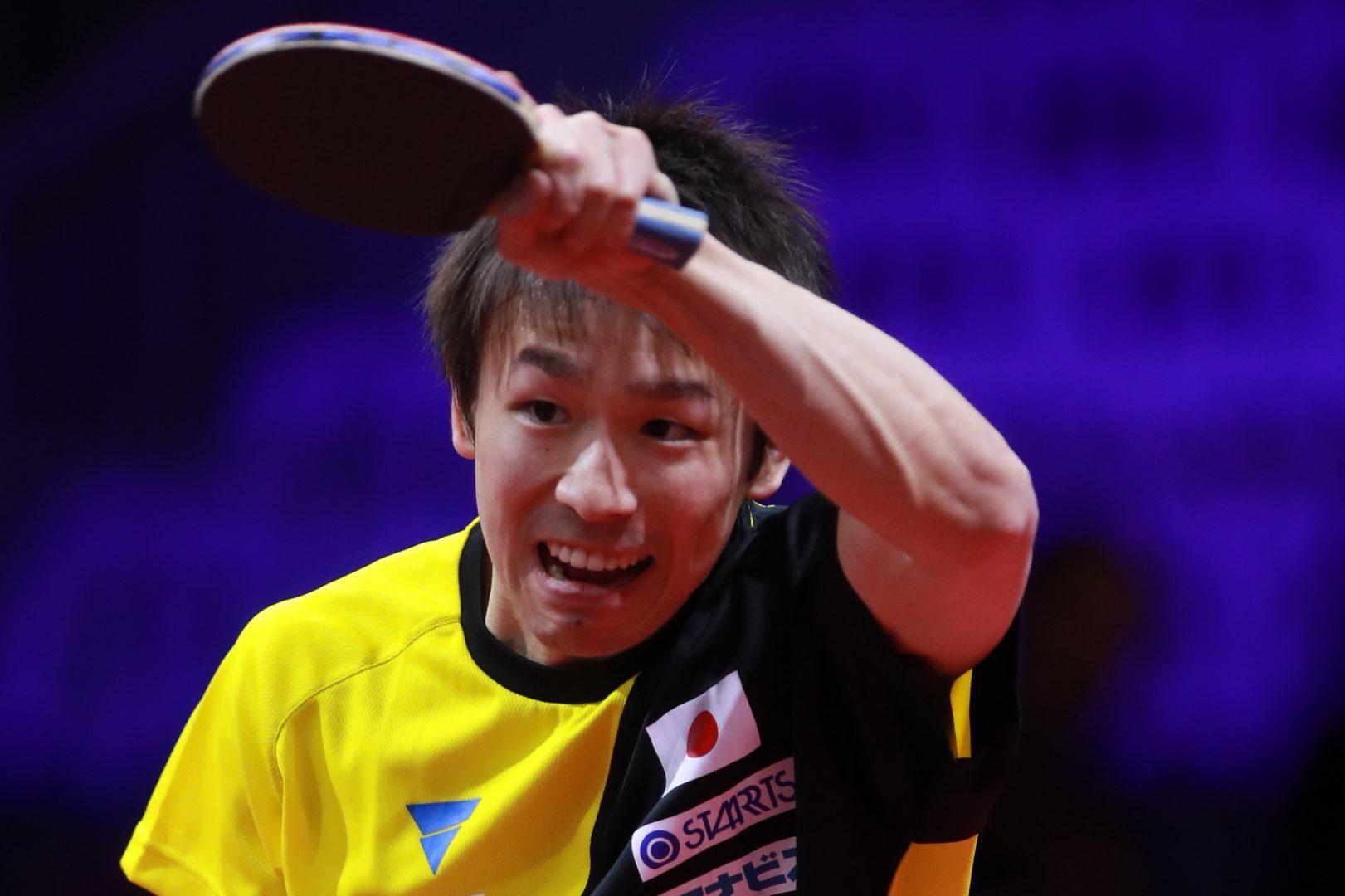 【卓球】丹羽孝希、苦しみながらも2回戦進出<世界卓球2019>