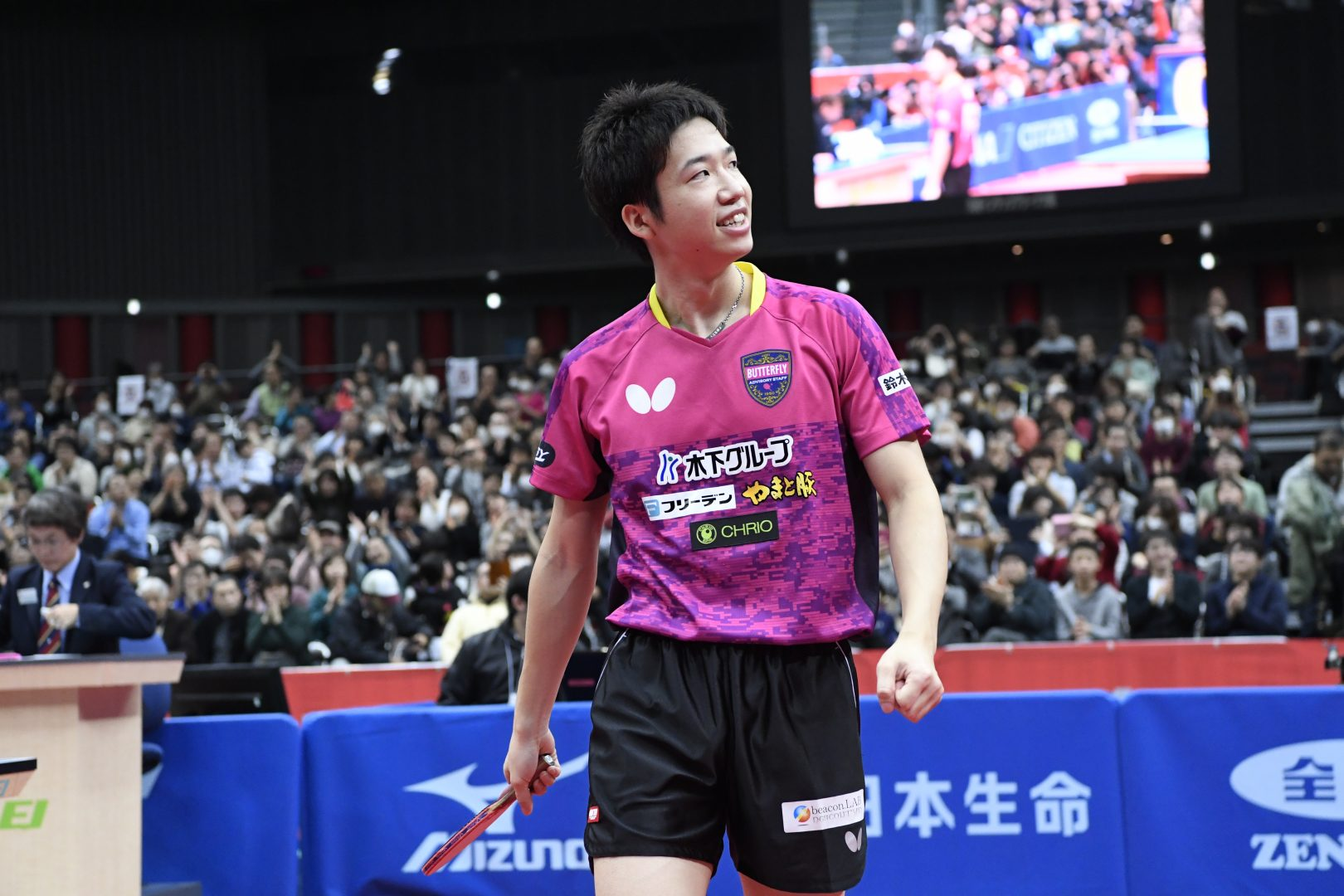 水谷隼、吉村真晴 水戸市のGW卓球イベントに登場決定