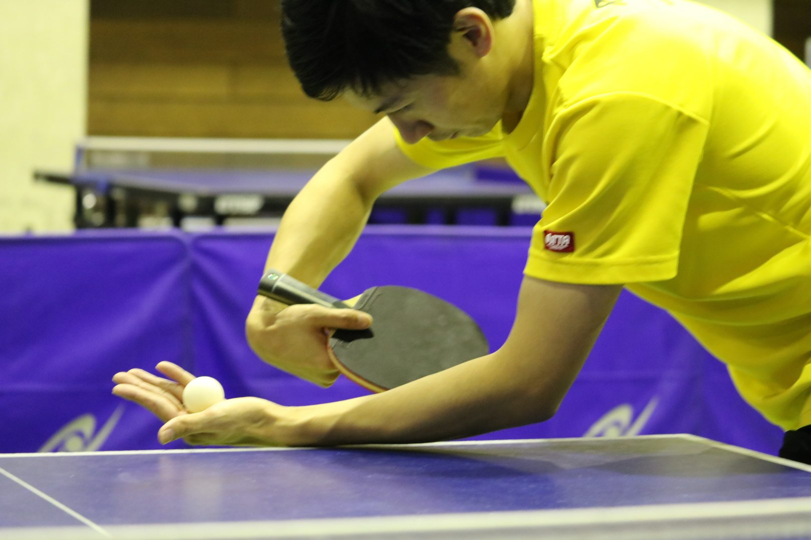 【初心者必見】YGサーブの出し方とコツ 卓球基本技術レッスン