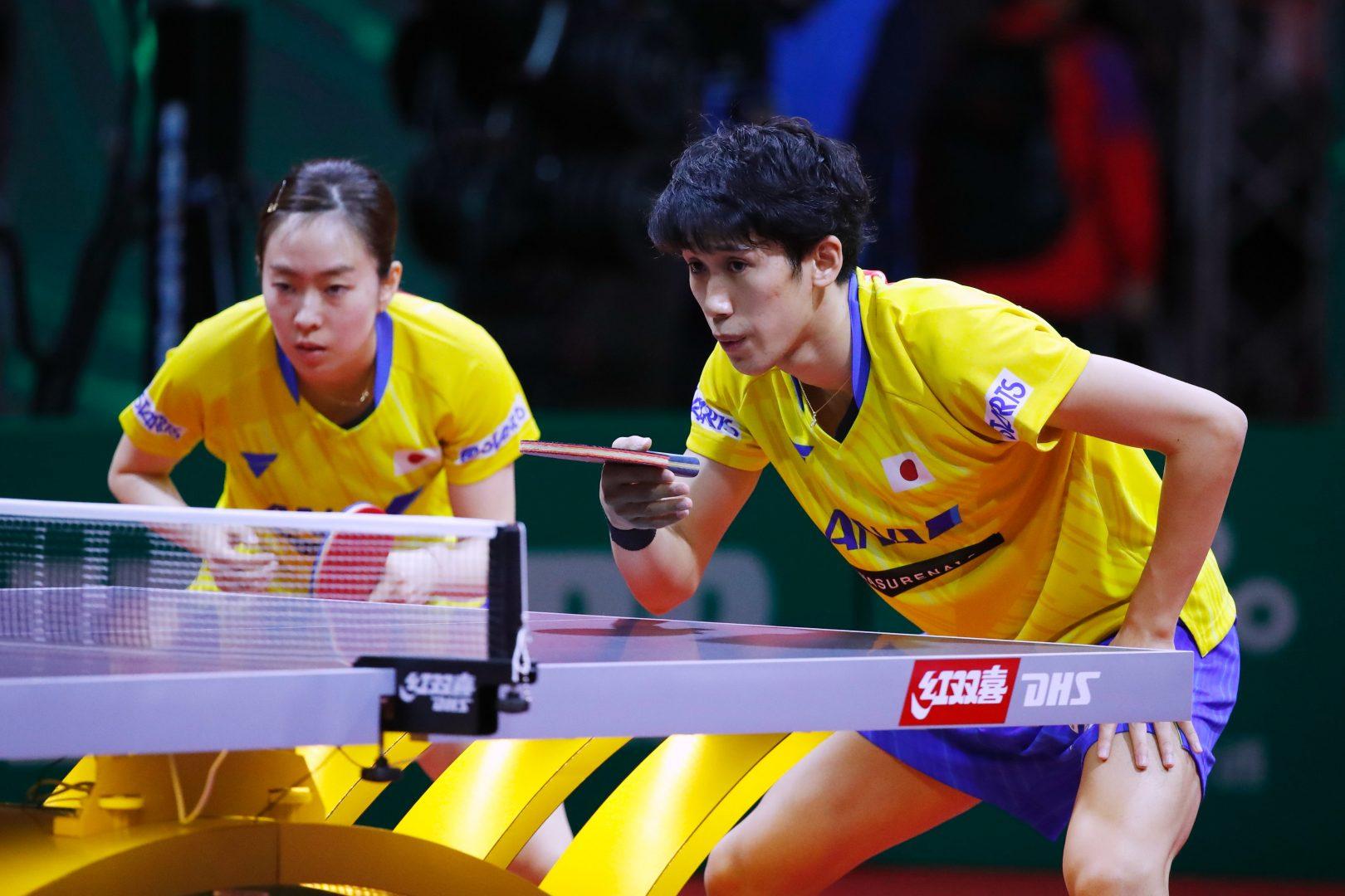 【卓球】前回王者の吉村/石川組、地元ペアを下し準々決勝へ<世界卓球2019>