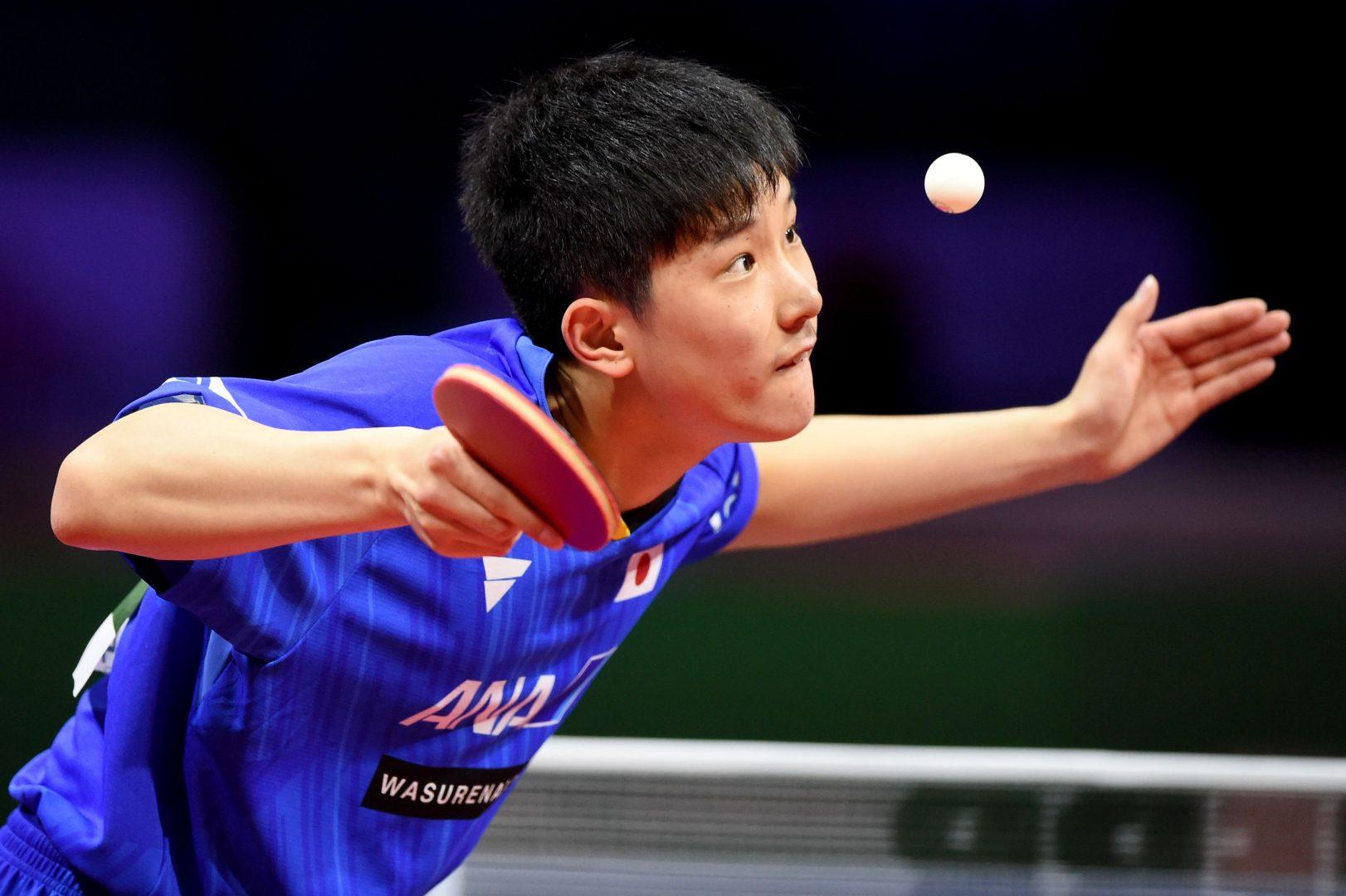【卓球】張本智和、史上最年少のメダルに向けて初戦突破<世界卓球2019>