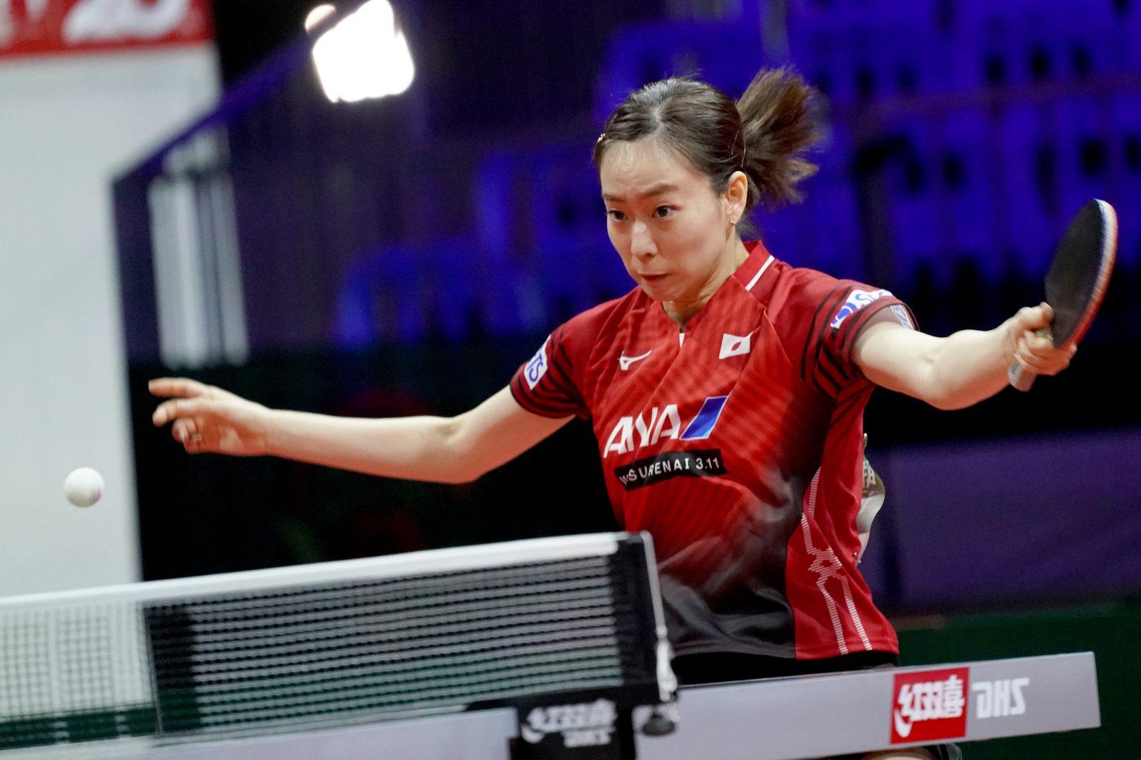 【卓球】石川佳純、完璧なカット打ちで4回戦進出<世界卓球2019>