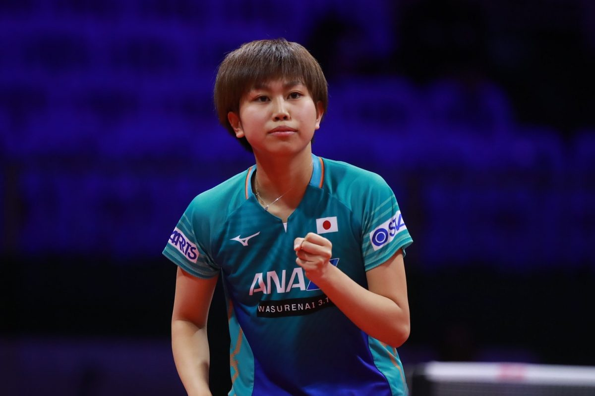 【卓球】佐藤瞳、完勝で中国選手との4回戦へ <世界卓球2019>