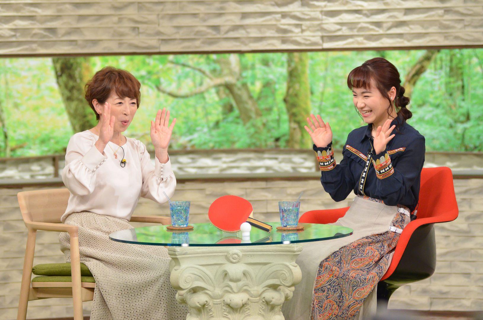 【卓球】伊藤美誠が『サワコの朝』で心に響く曲を発表