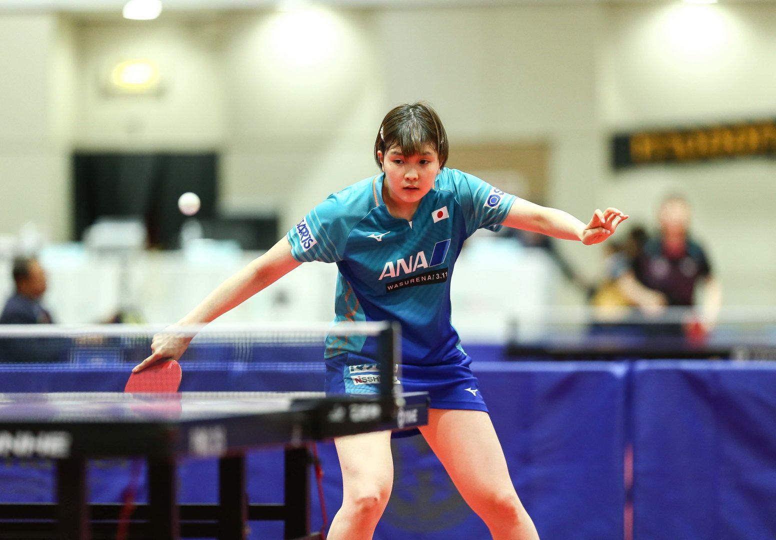 【卓球】女子シングルス4強は日本選手が独占 準決勝は佐藤と橋本のカットマン対決<タイOP>