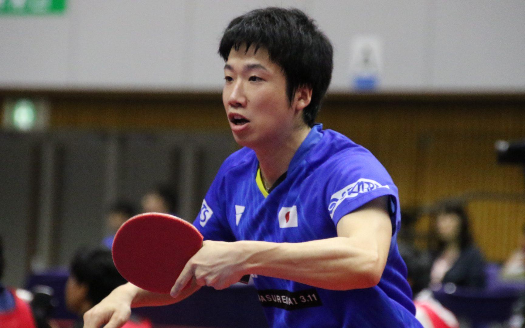 水谷隼、世界ランク7位の中国選手に惜敗 「勝つチャンスがあっただけに悔しい」<ライオン卓球ジャパンOP荻村杯>