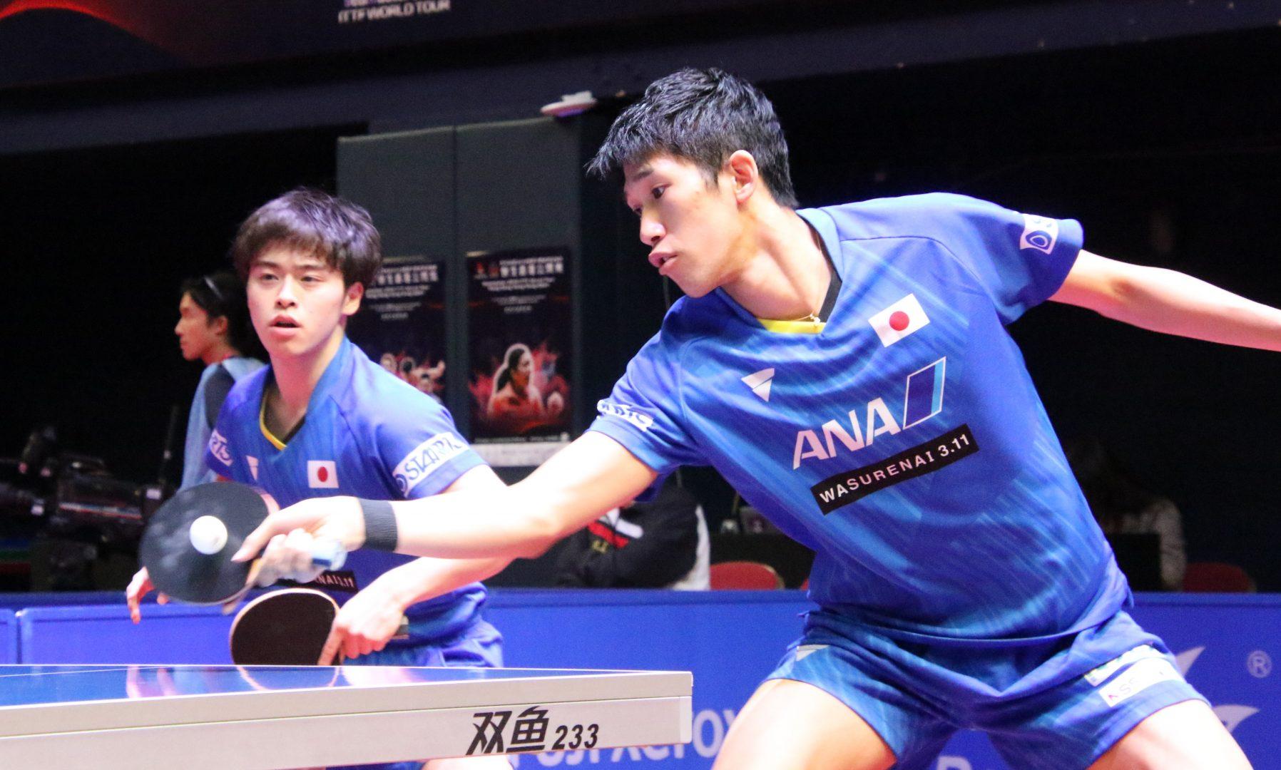 【卓球】森薗・吉村組、韓国ペアに敗戦 森薗「勝ちきれるように準備していく」<香港OP>