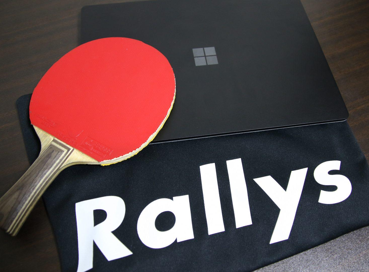 「趣味をキャリアの起点に」卓球メディアRallys、転職支援で登録者100名突破