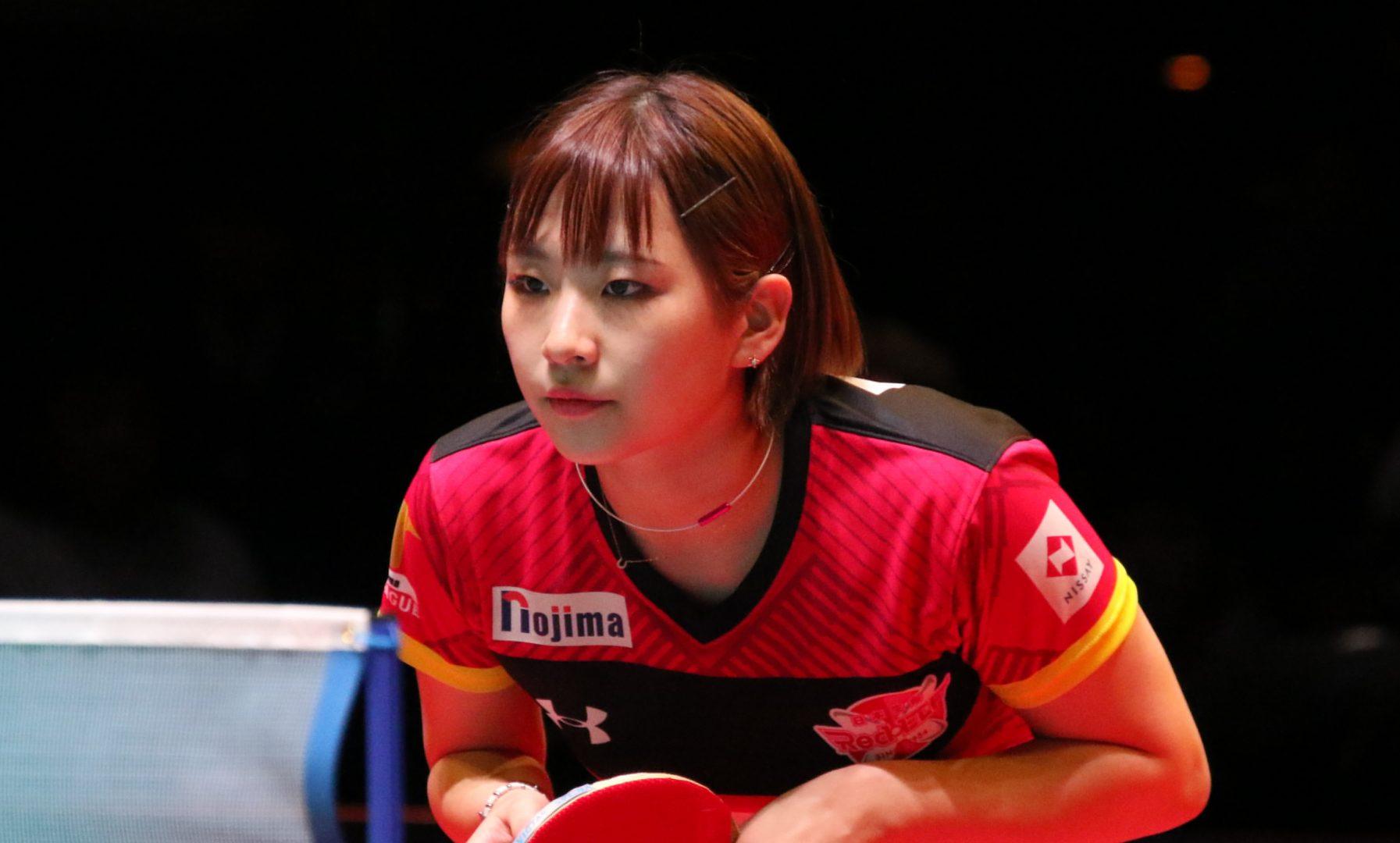 前田美優、Tリーグ初代チャンピオンTシャツで23歳の誕生日を報告
