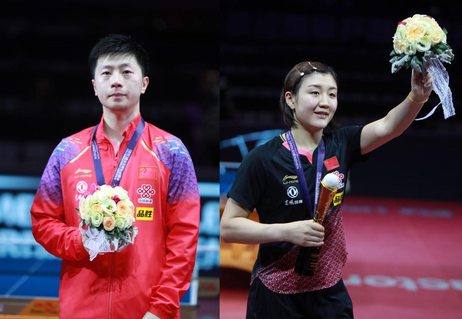 【今週の日本の卓球】馬龍、陳夢がシングルス優勝 中国OP全日程終了