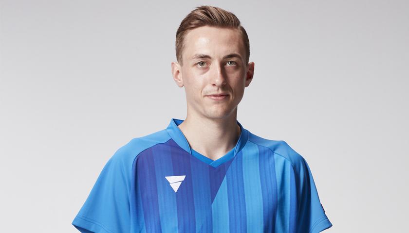 【卓球】VICTASがイングランド代表・ピッチフォードとアドバイザリー契約を締結