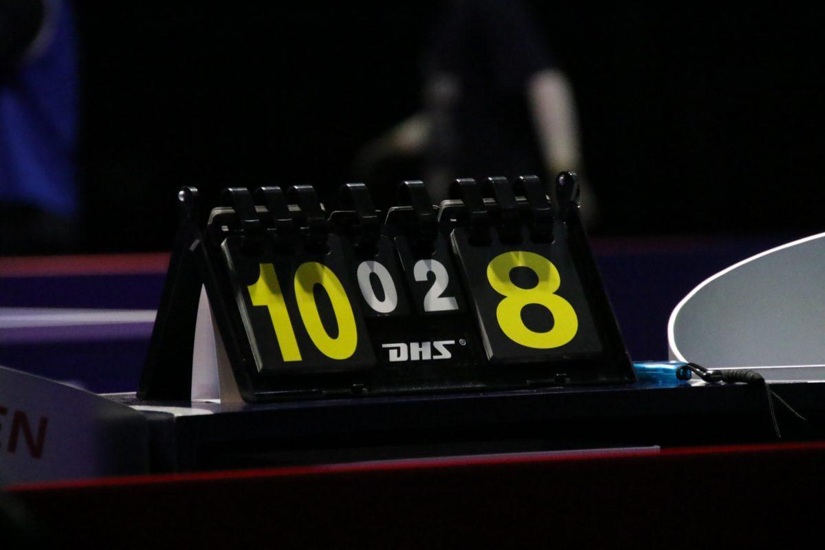 卓球、タイムアウト