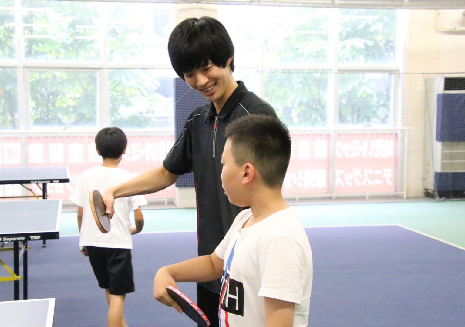 コナミスポーツ、子ども向け卓球スクールを積極展開