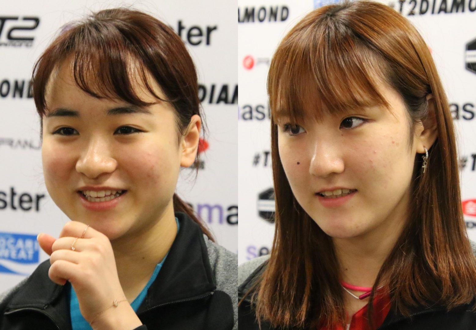伊藤美誠「命がけで頑張る」 初日に加藤との日本人対決<T2ダイヤモンド>