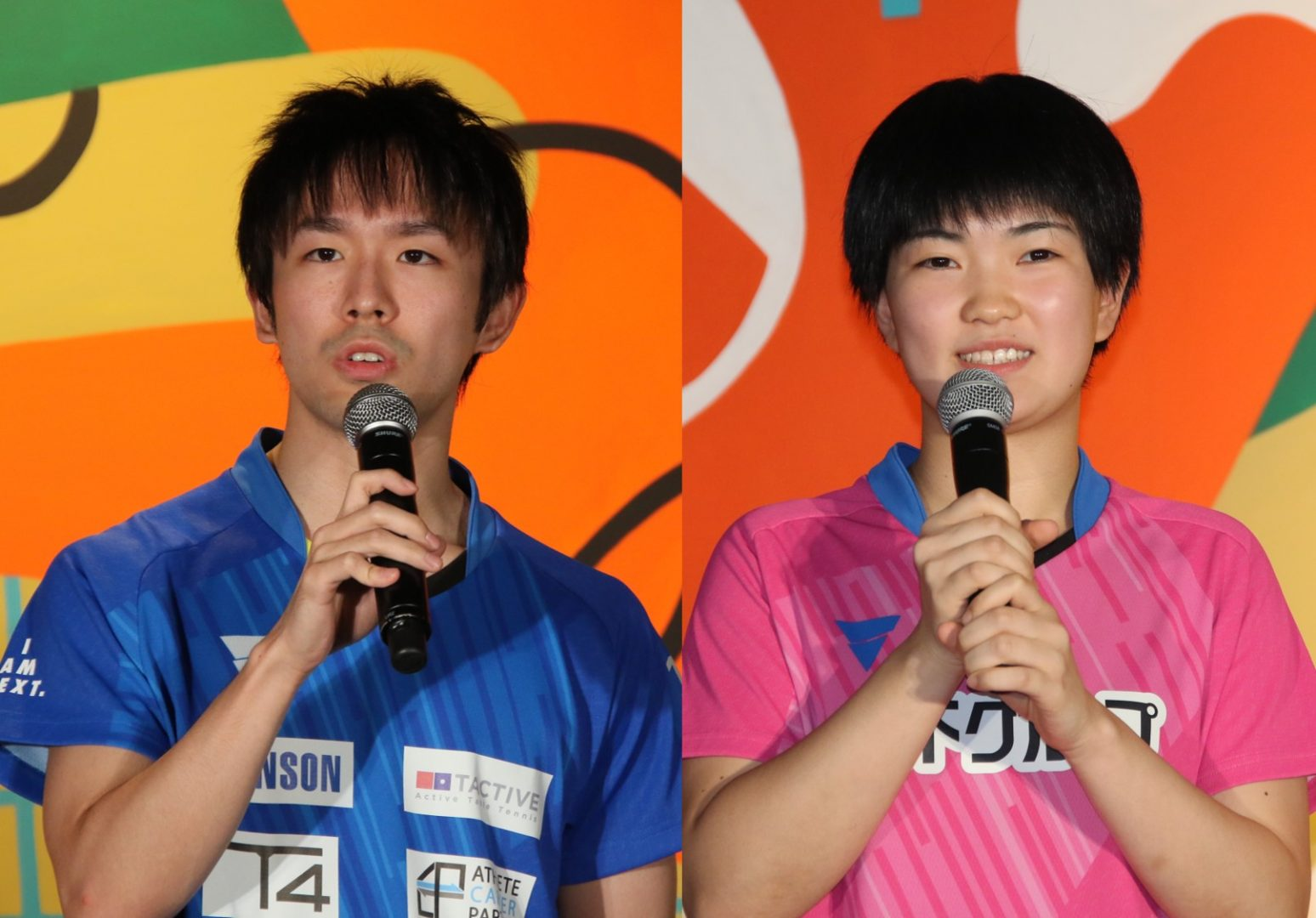 リオ銀・丹羽孝希、小池都知事と対戦 26日オープン「ping-pong ba」でセレモニー