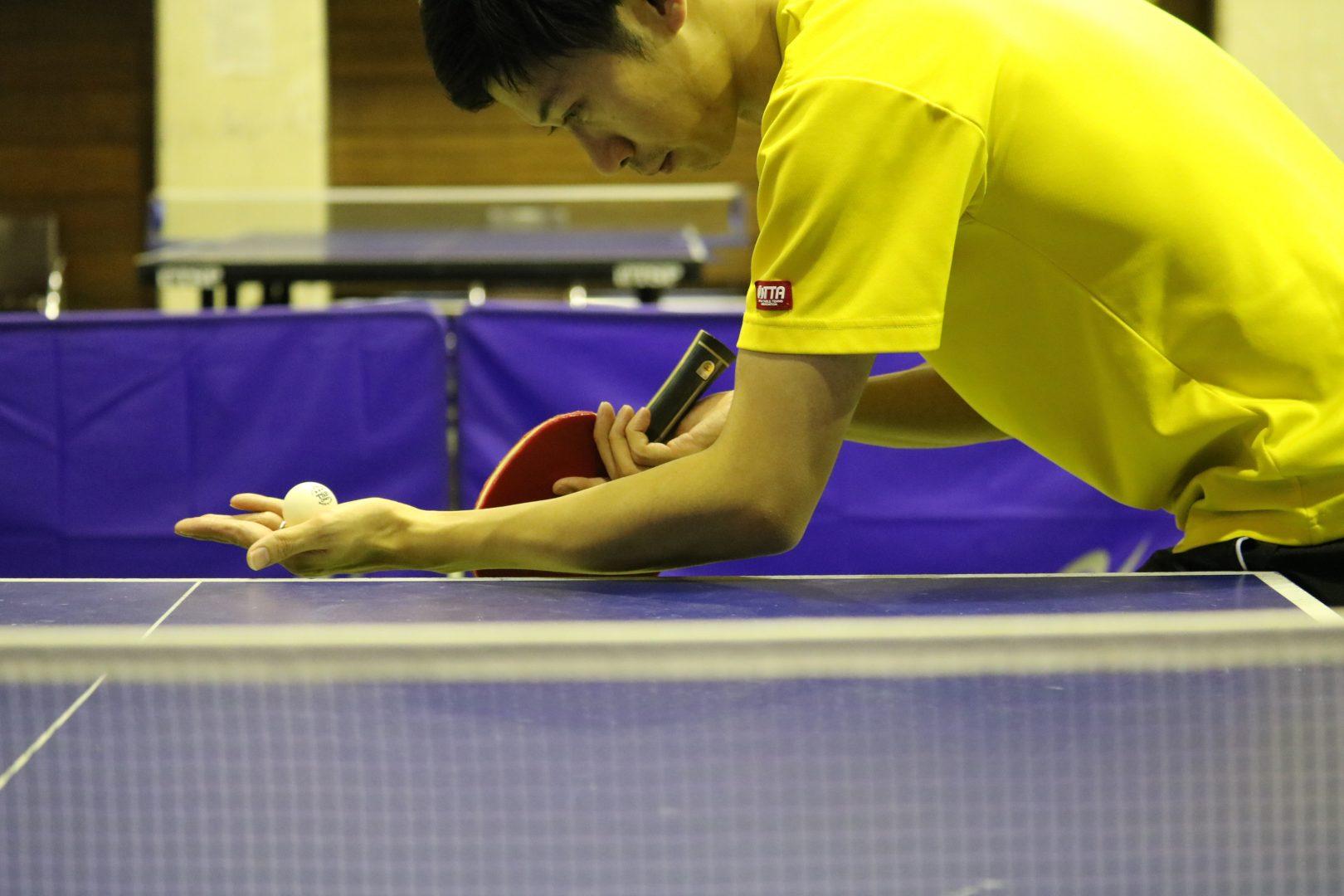 【初心者必見】順横回転サーブへのレシーブ対処法 |卓球基本技術レッスン