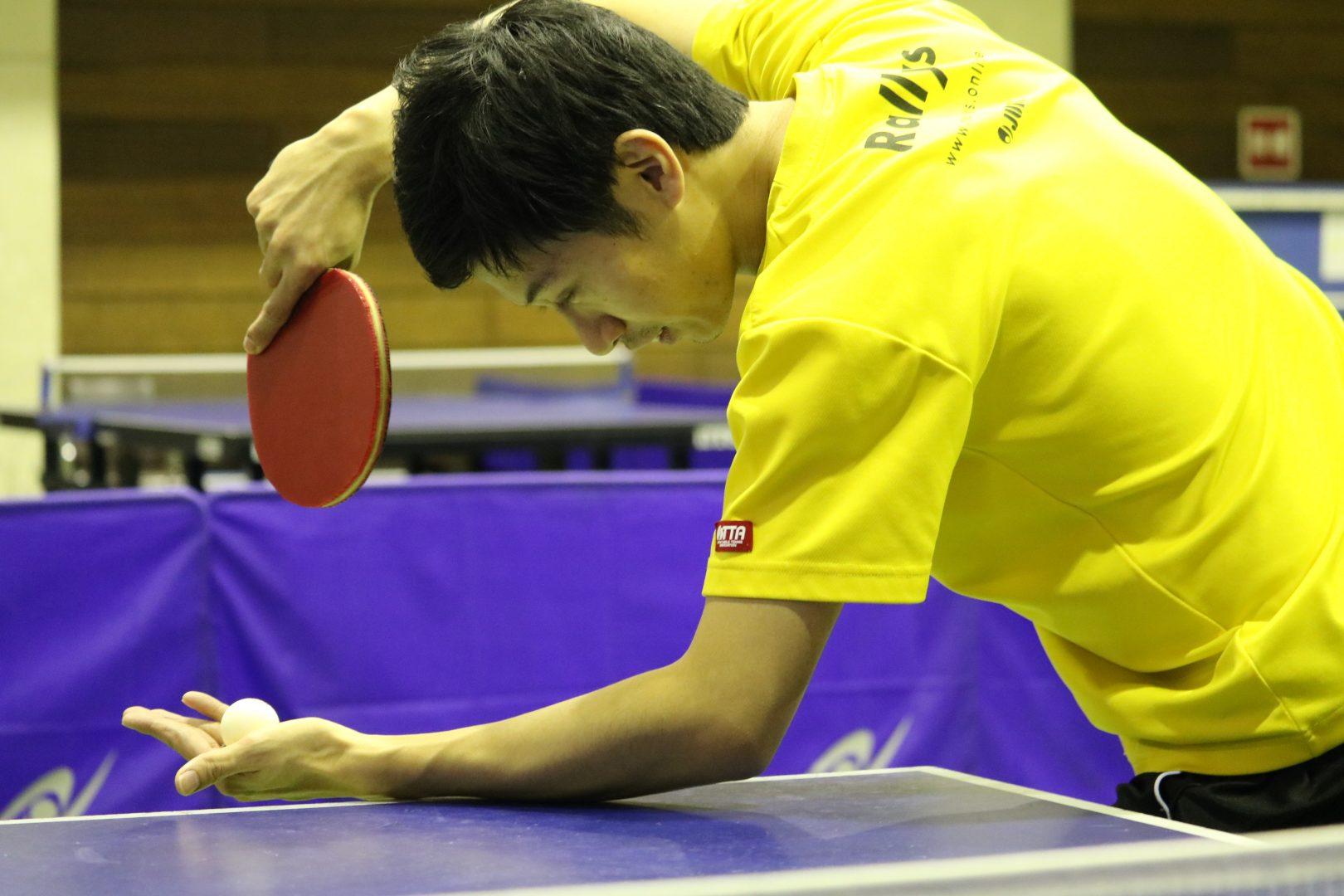 【初心者必見】逆横回転サーブへのレシーブ対処法|卓球基本技術レッスン